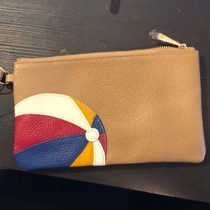  Ora Delphine Leather wristlet / Clutch